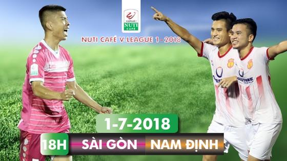 Vòng 17 Nuti Cafe V-League 2018: Quyết đấu trên sân Thống Nhất