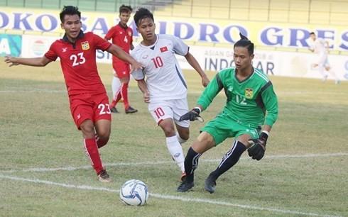 Thêm một chiến thắng đậm dành cho Việt Nam tại giải U19 Đông Nam Á 2018 ảnh 1