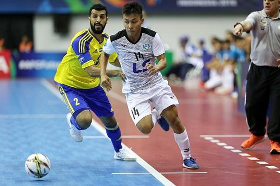 Thái Sơn Nam vào tứ kết giải futsal châu Á nhờ bàn thắng ở giây cuối cùng ảnh 1