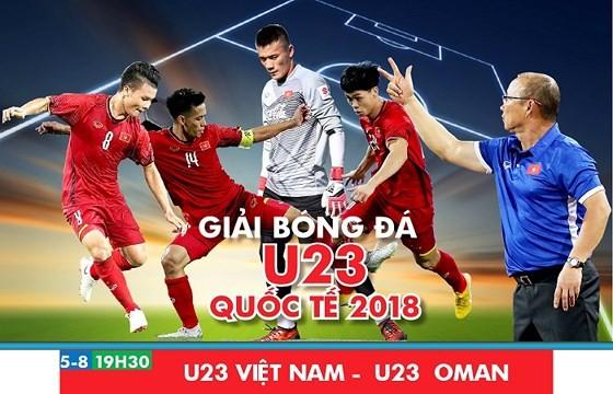 (Trực tiếp) Olympic Việt Nam - Olympic Oman 1-0: Văn Hậu thực hiện siêu phẩm phút 90 ảnh 2