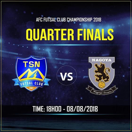 Tứ kết Futsal CLB châu Á: Chời đợi Thái Sơn Nam làm nên bất ngờ ảnh 1