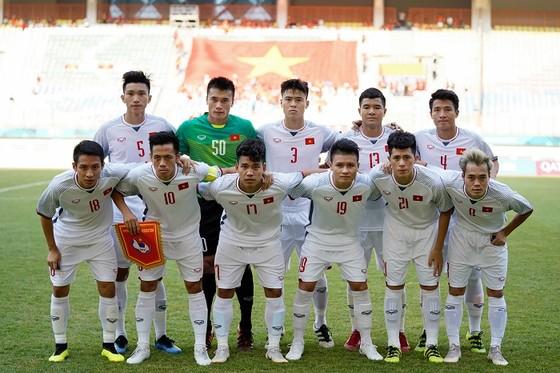 Đội Olympic Việt Nam. Ảnh: DŨNG PHƯƠNG