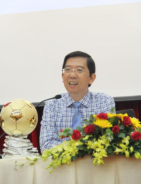 Họp báo công bố Giải thưởng Quả bóng Vàng Việt Nam 2018 ảnh 8