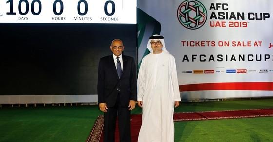 Ngày hội của bóng đá châu Á chỉ còn 100 ngày nữa là sẽ chính thức khai màn