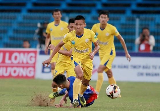 Khánh Hòa đang xếp nhì bảng tại V-League 2018. Ảnh: DƯƠNG THU