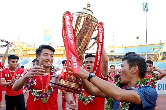 Giải hạng Nhất quốc gia - Cúp An Cường 2018:  Viettel hưởng trọn niềm vui, CAND xuống hạng ảnh 1