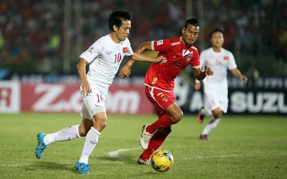 Cuộc so tài giữa hai đội Việt Nam và Myanmar hai năm trước. Ảnh: DŨNG PHƯƠNG