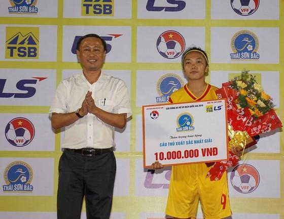 Phong Phú Hà Nam vô địch giải bóng đá nữ VĐQG 2018 ảnh 1