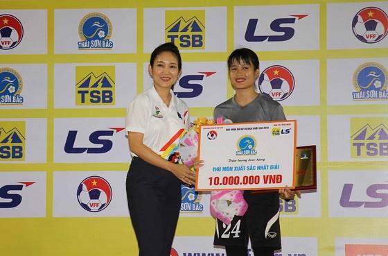 Phong Phú Hà Nam vô địch giải bóng đá nữ VĐQG 2018 ảnh 2