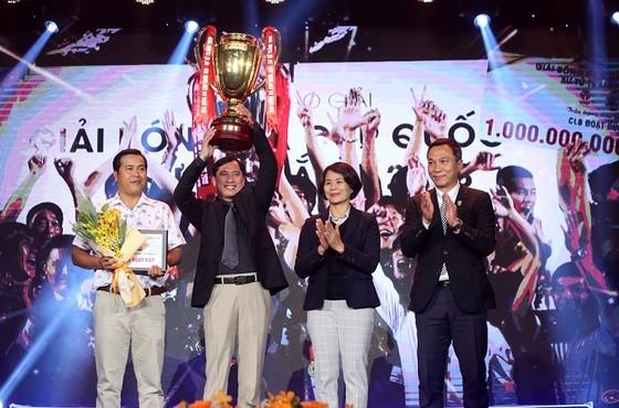 Becamex Bình Dương gây ấn tượng với ngôi vô địch Cúp Quốc gia 2018. Ảnh: MINH HOÀNG