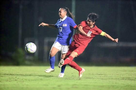 Đội U19 nữ Việt Nam chật vật vượt qua Malaysia ảnh 1