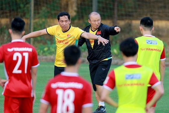 Đội tuyển Việt Nam kết thúc 2 tuần tập luyện tại Hàn Quốc. Ảnh: MINH HOÀNG