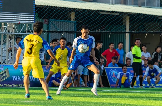 Giải bóng đá hội đồng hương Nghệ An-Hà Tĩnh tại BR-VT 2018  ảnh 1