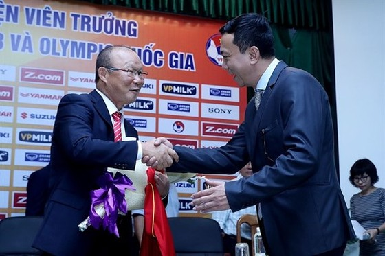 HLV Park Hang-seo đã đem lại luồng gió mới cho bóng đá Việt Nam