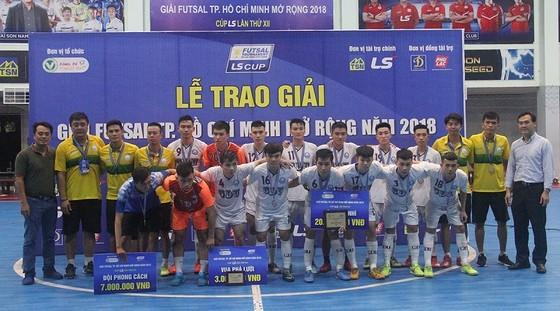 Tân Hiệp Hưng vô địch giải futsal TPHCM - Cúp LS 2018 ảnh 1