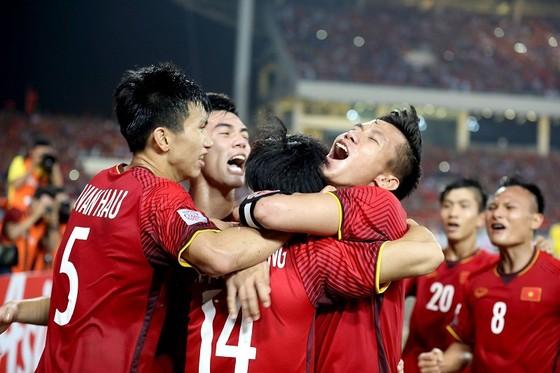 Đội tuyển Việt Nam có độ tuổi thấp nhất tại Asian Cup 2019. Ảnh: MINH HOÀNG