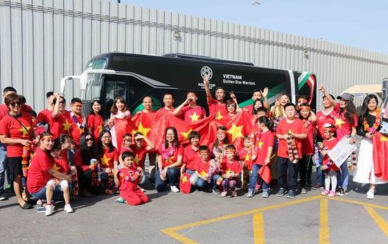 Đội tuyển Việt Nam đến UAE ảnh 1