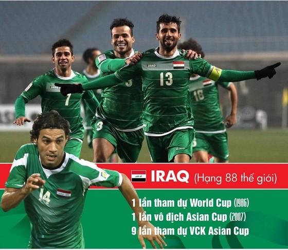 Iraq - Đối thủ quan trọng với tuyển Việt Nam ảnh 1