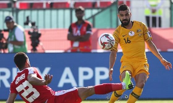 Australia giành chiến thắng kịp lúc trước Palestine. Ảnh: AFC