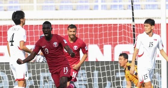 Ali (19) tỏa sáng với 4 bàn thắng cho Qatar. Ảnh: AFC
