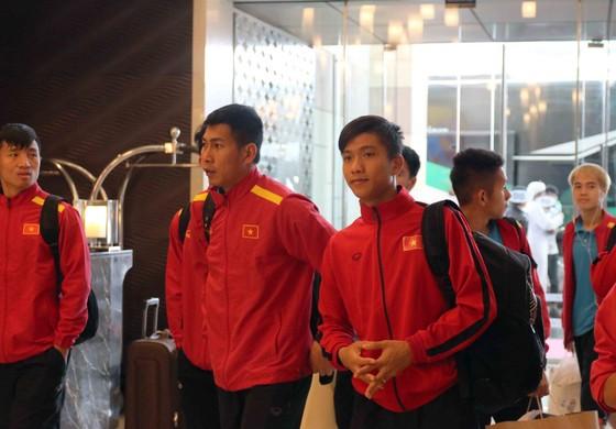 Đội Việt Nam có mặt tại Dubai ảnh 1