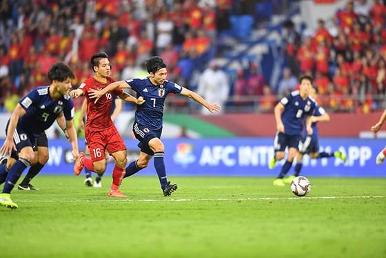 Phút 53, Nhật Bản đã có bàn mở tỷ số. Ảnh: AFC