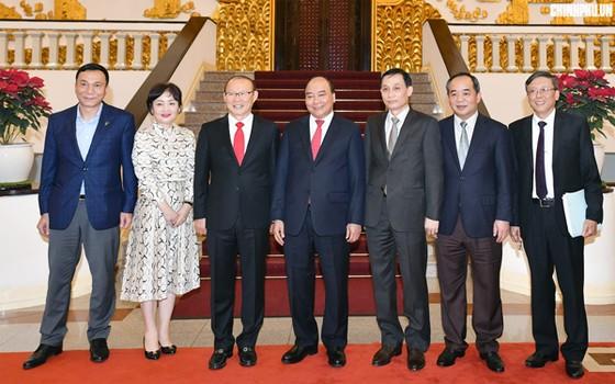 Thủ tướng tiếp HLV Park Hang-seo ảnh 1