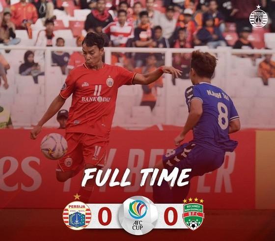 AFC Cup 2019: Becamex Bình Dương hòa trên thế thắng tại Indonesia ảnh 2