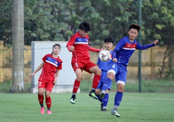 Đội tuyển U19 nữ Việt Nam tham dự giải giao hữu Jenesys ảnh 1