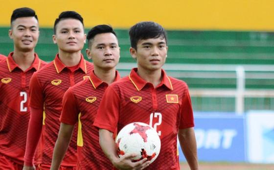 Hoàng Nam tự tin U23 Việt Nam sẽ xếp trên Thái Lan và Indonesia. Ảnh: VFF