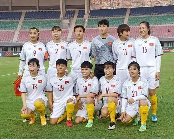 Đội nữ Việt Nam giành chiến thắng ở trận ra quân. Ảnh: Đoàn Nhật