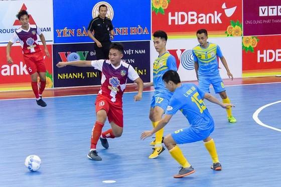Sanna Khánh Hòa là đội đầu tiên sớm giành vé vào giai đoạn 2. Ảnh: Anh Trần