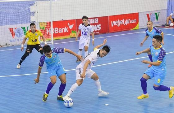 Thái Sơn Nam giành chiến thắng thuyết phục trước Sanatech Khánh Hòa. Ảnh: ANH TRẦN