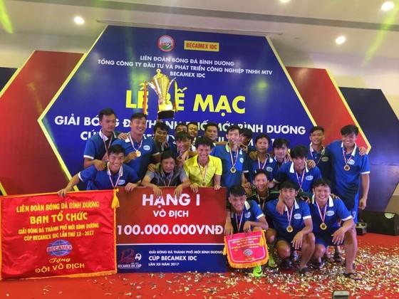 Giải bóng đá Thành phố mới Bình Dương - Cúp Becamex IDC 2019 ảnh 1