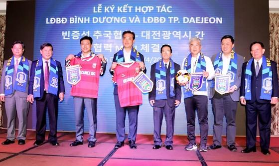 LĐBĐ tỉnh Bình Dương và LĐBĐ thành phố Daejeon ký hợp tác chiến lược ảnh 1