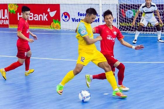 Vòng 8 giải futsal VĐQG 2019: Quyết liệt cuộc tranh ngôi vô địch lượt đi ảnh 1