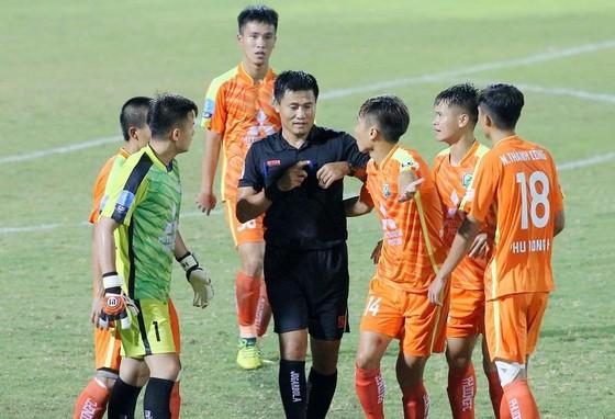 Đội Phù Đổng vẫn ở vị trí cuối bảng với 1 điểm. Ảnh: MINH HOÀNG