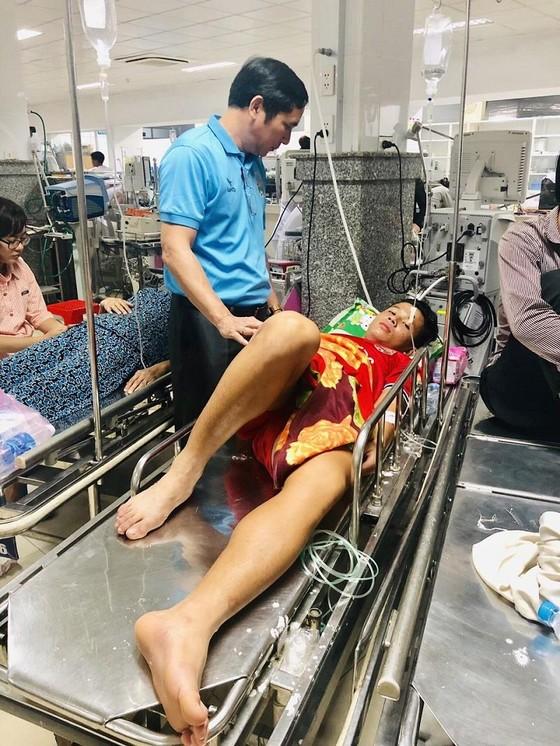 Cầu thủ Nguyễn Hùng Thiện Đức được chuyển đến bệnh viện 115 (TPHCM) ảnh 7