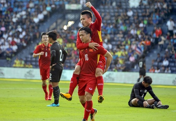 Hai lần gặp gỡ gần đây, U23 Việt Nam đều đánh bại Thái Lan. Ảnh: Anh Khoa