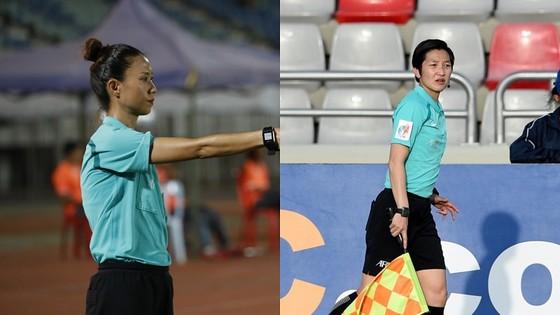 Trọng tài nữ tạo cột mốc lịch sử ở AFC Cup ảnh 1