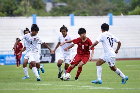 U15 nữ Việt Nam giành vé vào bán kết giải Đông Nam Á 2019 ảnh 1