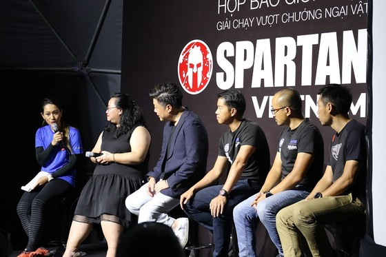 Buổi giao lưu và họp báo giới thiệu về Spartan Race 2020. Ảnh: Anh Trần