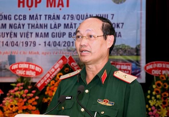 Tự hào người lính tình nguyện Mặt trận 479 ảnh 3