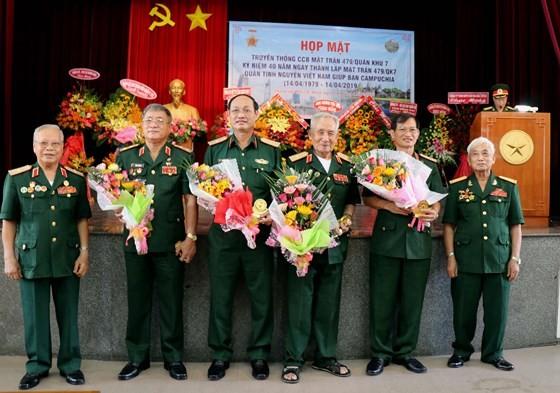 Tự hào người lính tình nguyện Mặt trận 479 ảnh 4