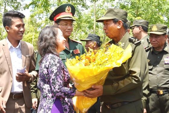 Thắt chặt tình hữu nghị Việt Nam-Campuchia ảnh 1