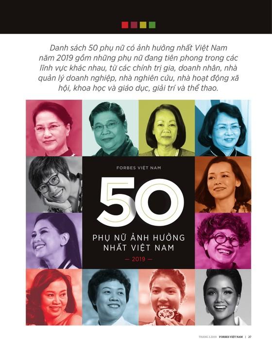 """Hoa hậu H'Hen Niê được vinh danh trong danh sách """"50 người phụ nữ ảnh hưởng nhất Việt Nam năm 2019"""" ảnh 1"""
