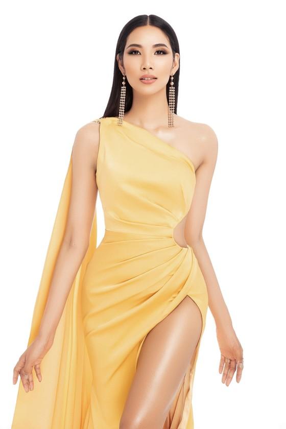 Á hậu Hoàng Thùy là đại diện Việt Nam tham gia Hoa hậu Hoàn vũ Thế giới 2019 ảnh 2