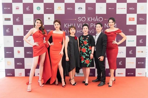 Nhiều thí sinh nổi bật tại vòng sơ khảo phía Nam Hoa hậu Hoàn vũ Việt Nam 2019 ảnh 4