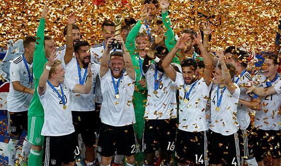 Tuyển Đức càng thi đấu càng lên chân tại Confederations Cup 2017