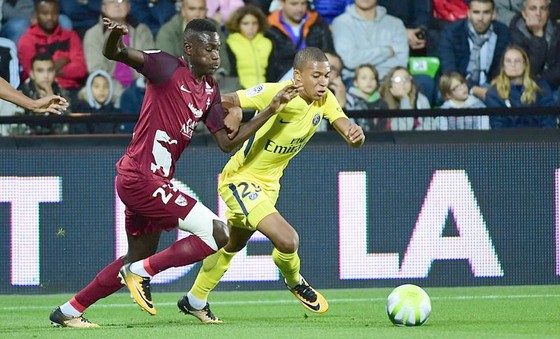 Vòng 5 - Ligue 1: Paris Saint Germain vẫn toàn thắng ảnh 1
